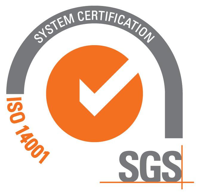 SGS ISO 14001 Logo